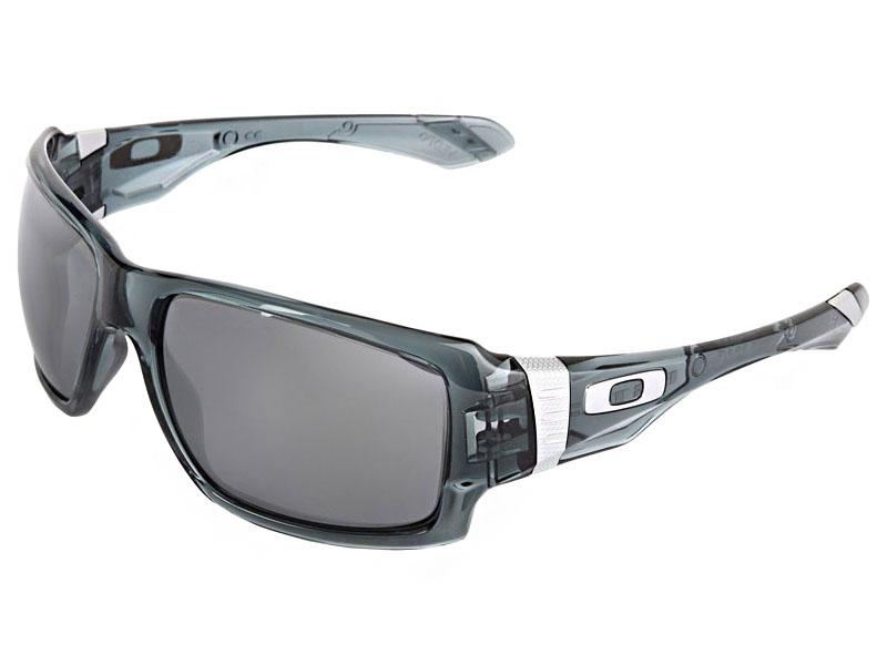 Oakley Big Taco Sunglasses OO9173-02 Crystal Black/Black