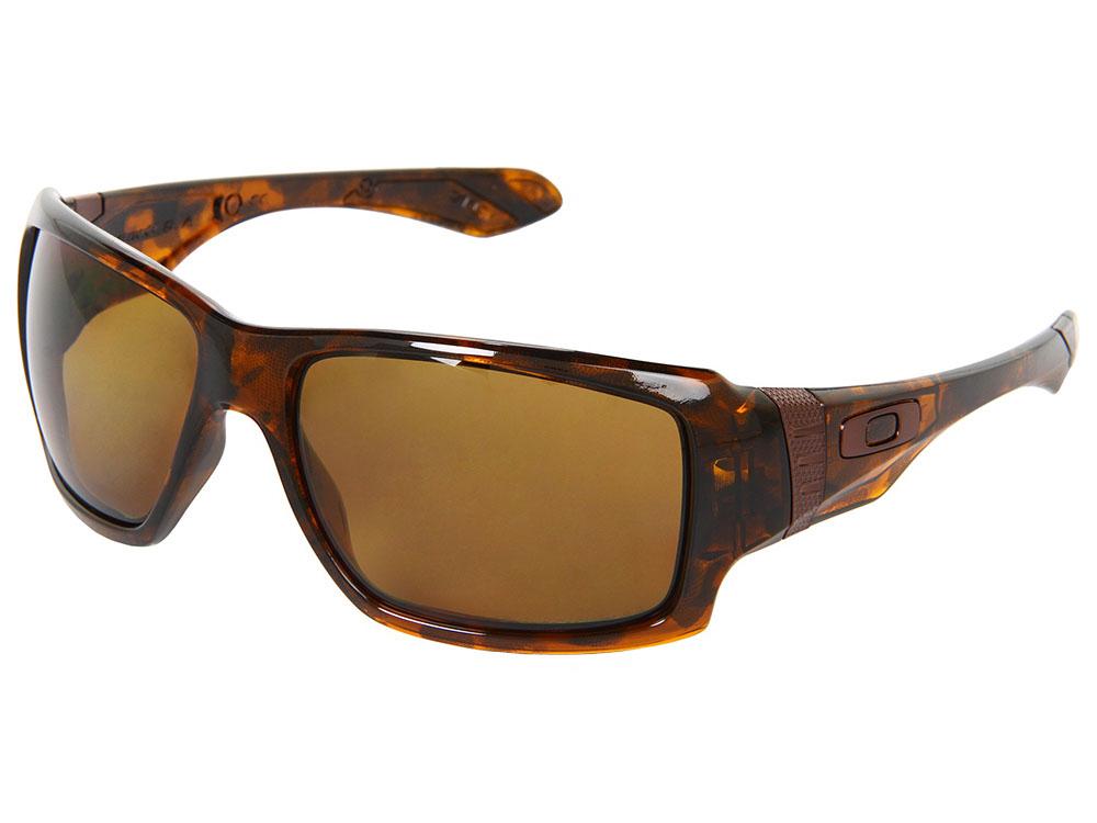 5c36c5e71e0 Oakley Big Taco Polarized Sunglasses OO9173-05 Brown Tortoise Bronze ...
