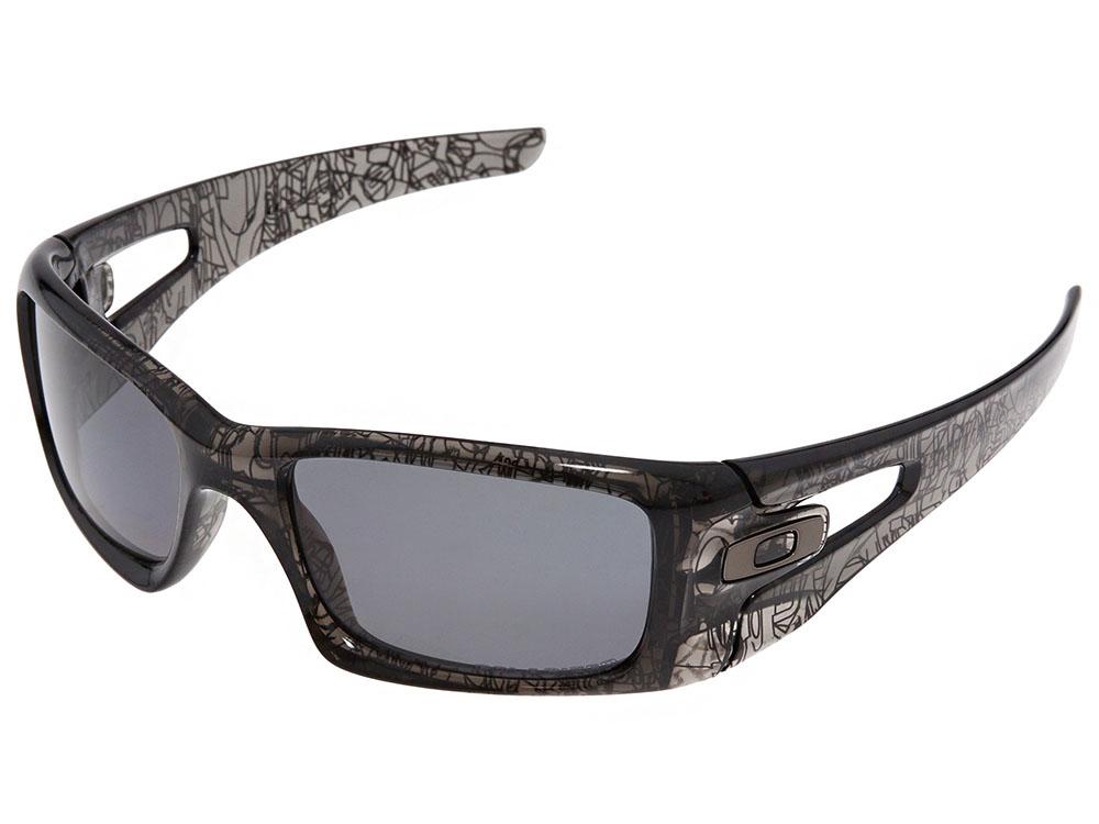 630201d7bc Oakley Crankcase Polarized Sunglasses OO9165-06 Grey Smoke History ...