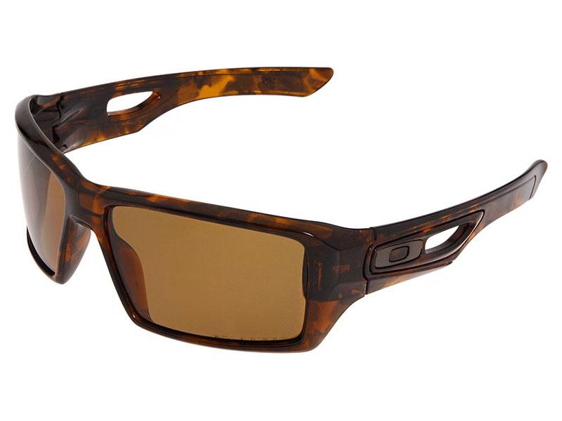 503ef00a03 Details about Oakley Eyepatch 2 Polarized Sunglasses OO9136-11  Tortoise Bronze