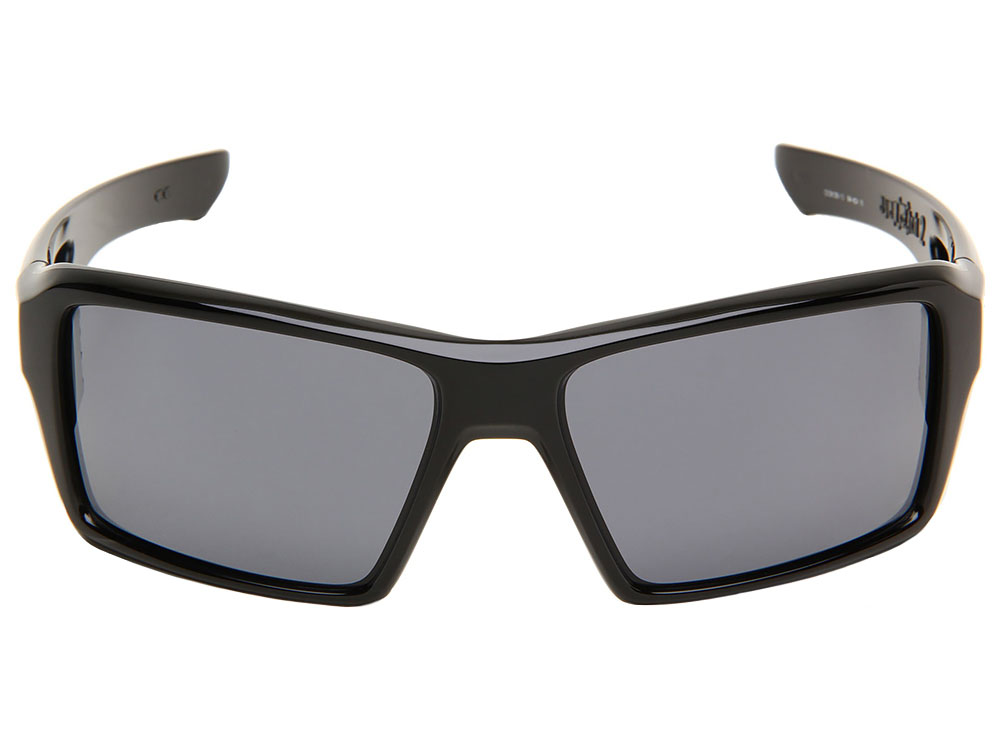 596d6300653 Details about Oakley Eyepatch 2 Sunglasses OO9136-13 Polished Black Grey