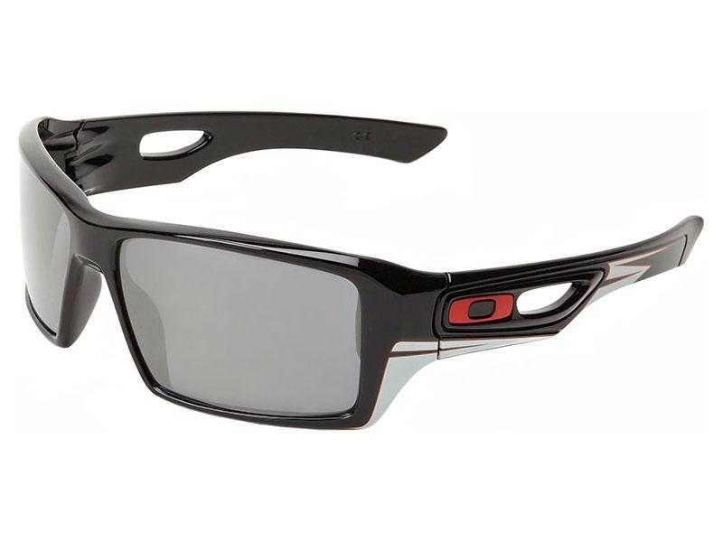 7293eb246d Oakley Eyepatch 2 Troy Lee Designs Signature Series Sunglasses. Polished Black  Frame   Black Iridium Lens