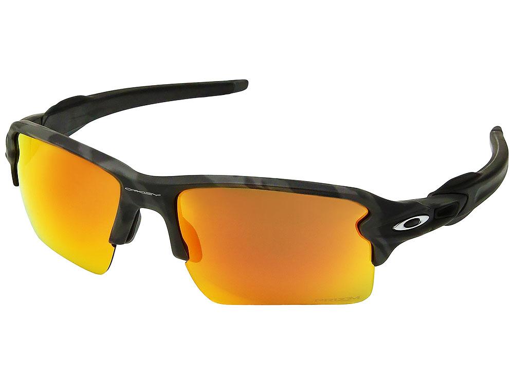 4837022fe3045 Oakley Flak 2.0 XL Black Camo Collection Sunglasses. Black Camo Frame   Prizm  Ruby Lens