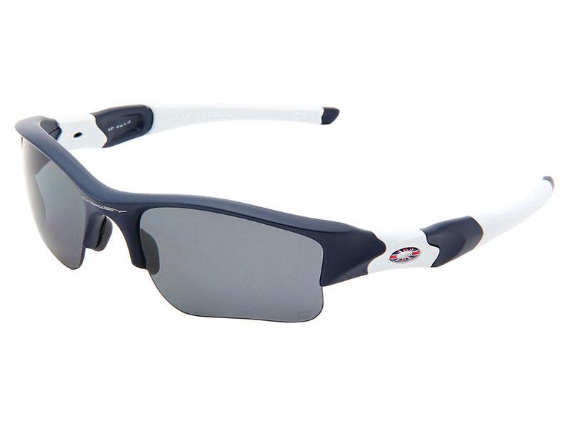 28339dca18 Oakley Flak Jacket XLJ Team GB Polarized Sunglasses 24-321 Matte ...