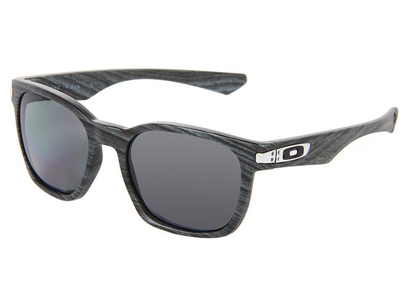 32de60270e Oakley Garage Rock Polarized Sunglasses OO9175-08 Blue Woodgrain ...