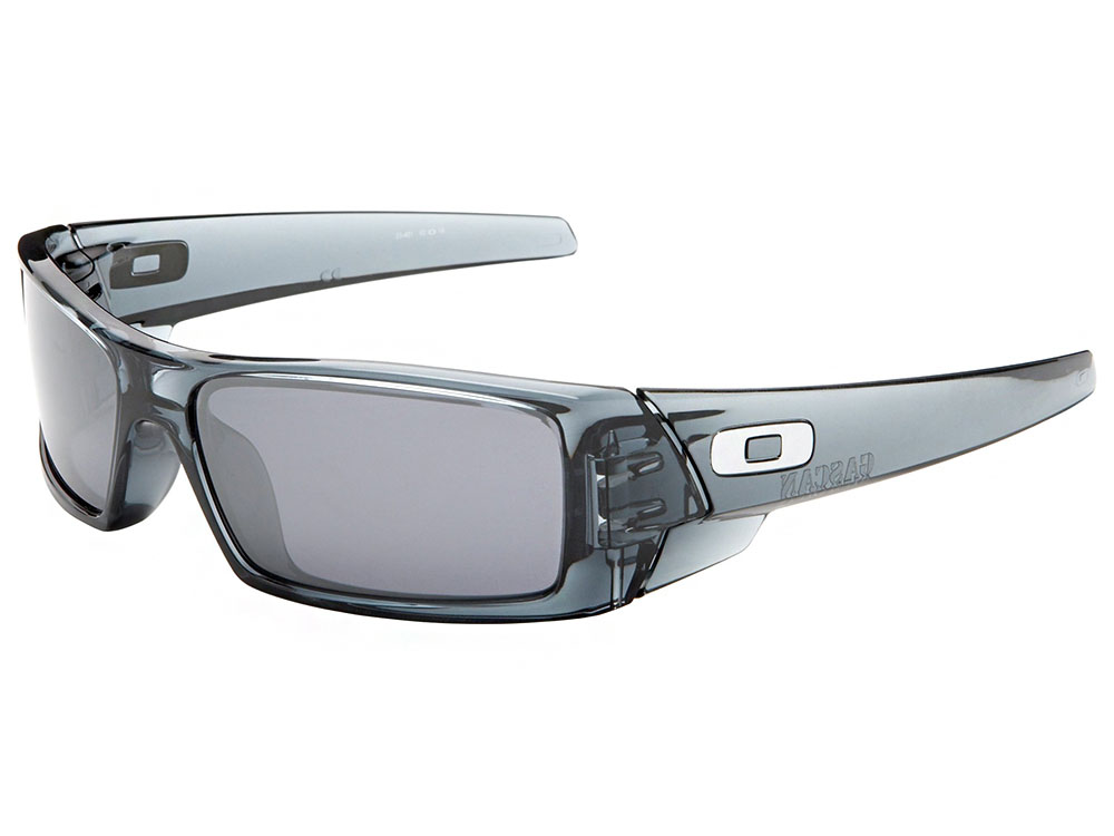 701e10a766 Oakley Gascan Sunglasses 03-481 Crystal Black Black Iridium ...