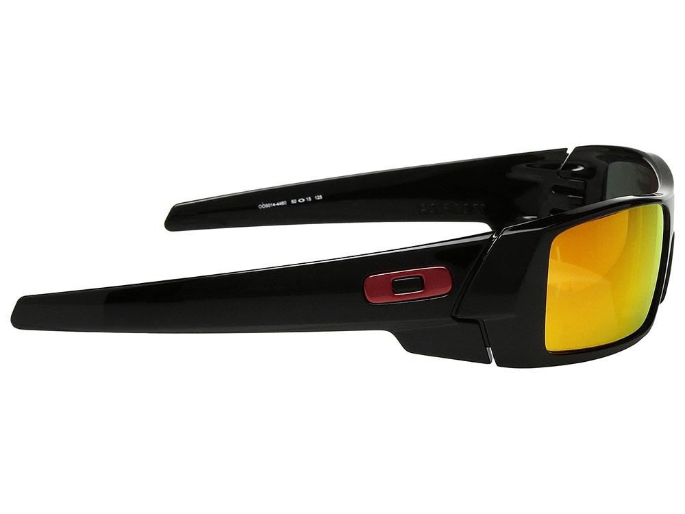 668fc75709 Oakley Gascan Sunglasses OO9014-4460 Polished Black Prizm Ruby ...