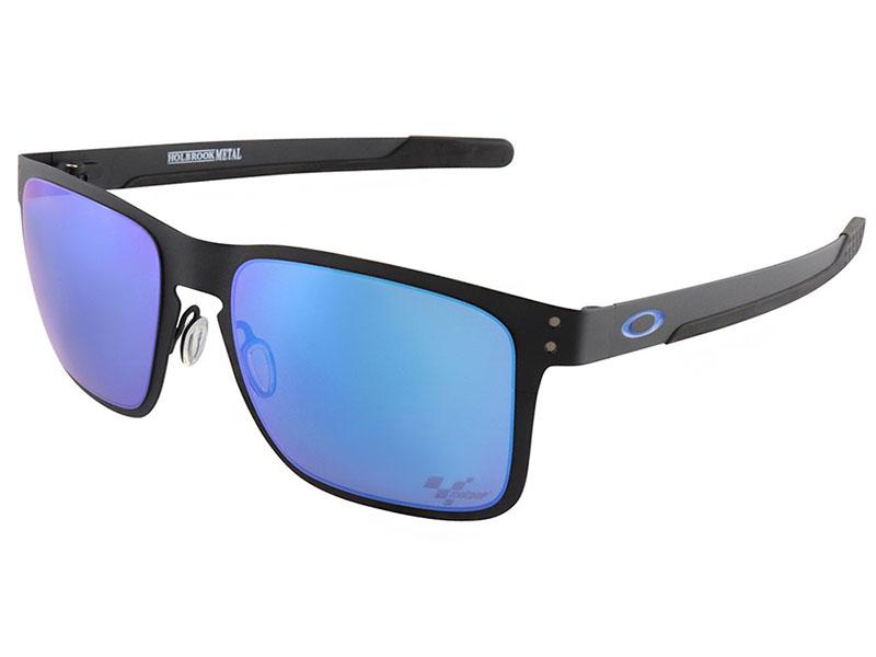 5b6bec4862d Oakley Holbrook Metal MotoGP Sunglasses. Matte Black Frame   Prizm Sapphire  Lens