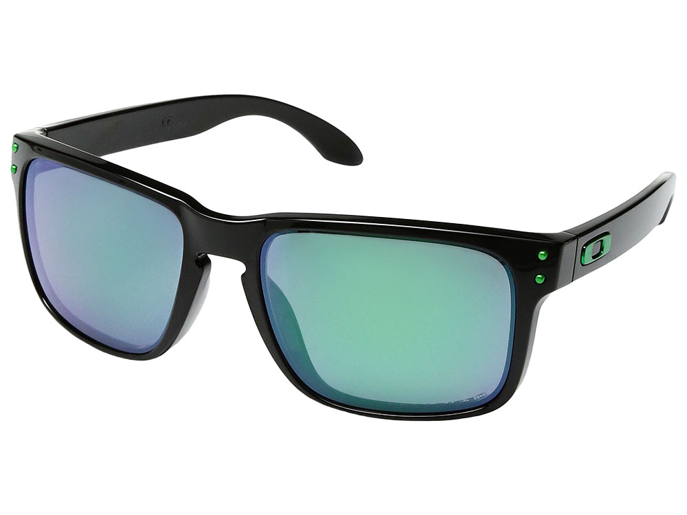 83d28ef060b1e Details about Oakley Holbrook Polarized Sunglasses OO9102-40 Polished Black Jade  Iridium