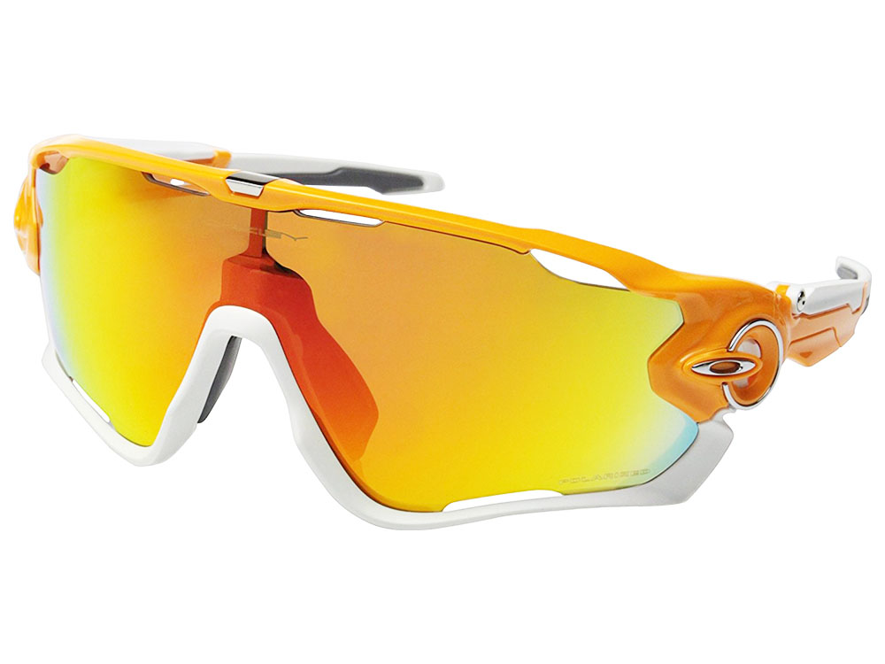 f35da91aaf Details about Oakley Jawbreaker Polarized Sunglasses OO9290-09 Atomic Orange Fire  Iridium