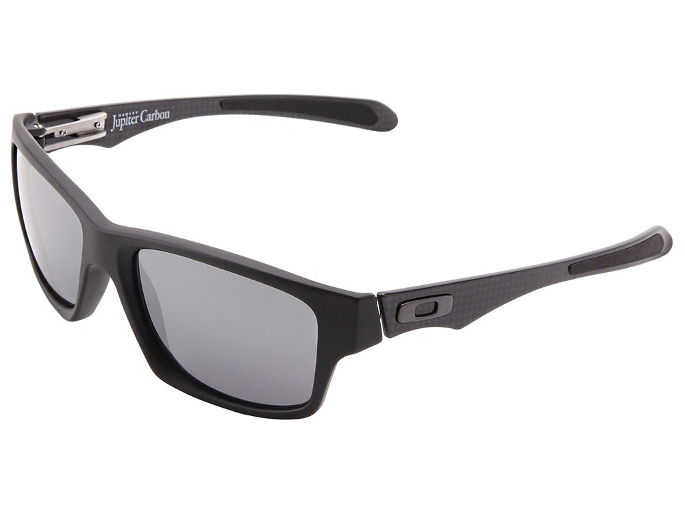 800d2e55db Details about Oakley Jupiter Carbon Sunglasses OO9220-02 Matte Black Black  Iridium