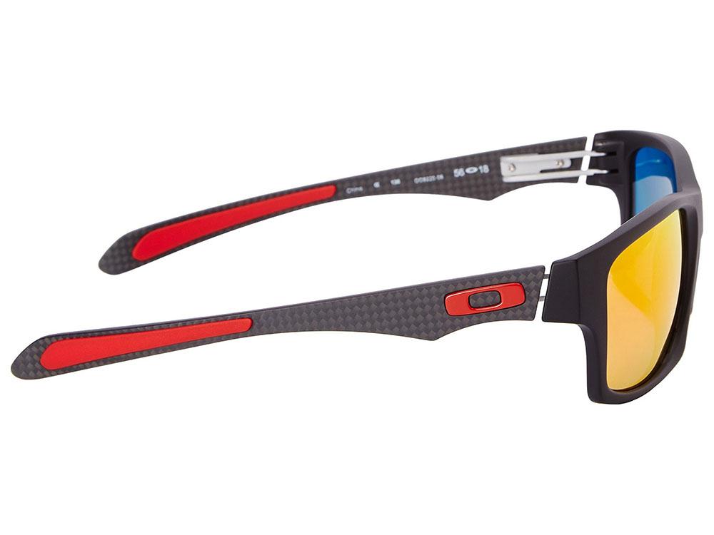 d79239ec3fdde Oakley Jupiter Carbon Scuderia Ferrari Polarized Sunglasses OO9220 ...