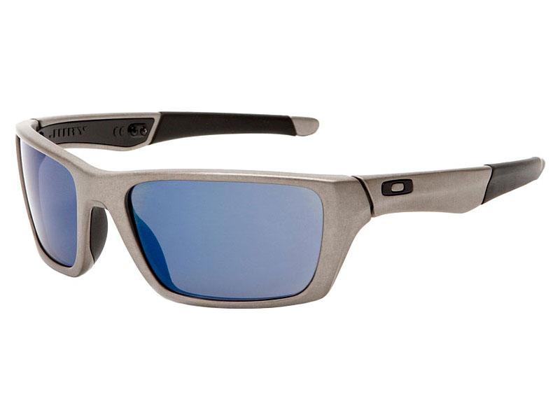 34a64da122 Oakley Jury Sunglasses OO4045-03 Distressed Silver/Ice Iridium ...