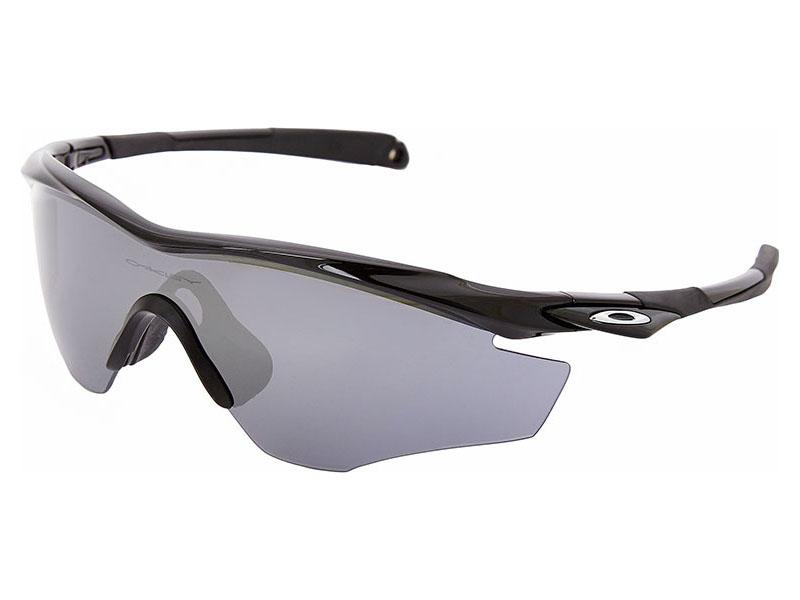 a7f02f0ab8ce6 Details about Oakley M2 Frame Sunglasses OO9212-01 Polished Black Black  Iridium