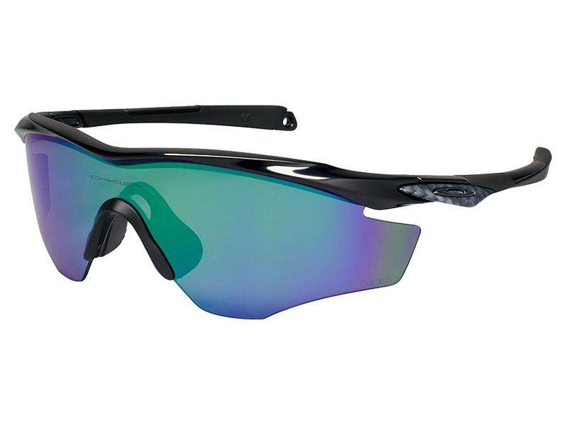 598fcae93e4db Oakley M2 Frame Polarized Sunglasses. Polished Black Frame   Jade Iridium  Polarized Lens