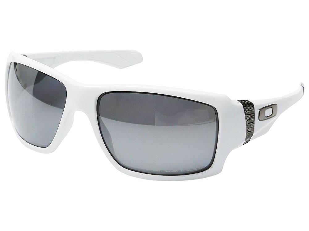 13e3bac237 Oakley Big Taco Polarized Sunglasses. Polished White Frame   Black Iridium  Polarized Lens