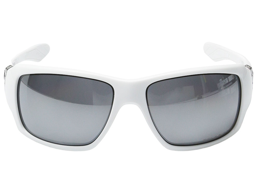 c9c5c48f8c4 Oakley Big Taco Polarized Sunglasses OO9173-12 Polished White Black ...