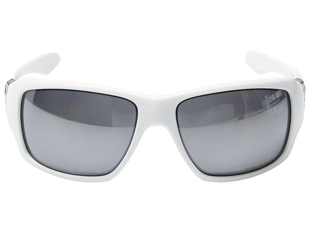 c9c5c48f8c4 Oakley Big Taco Polarized Sunglasses OO9173-12 Polished White Black ...