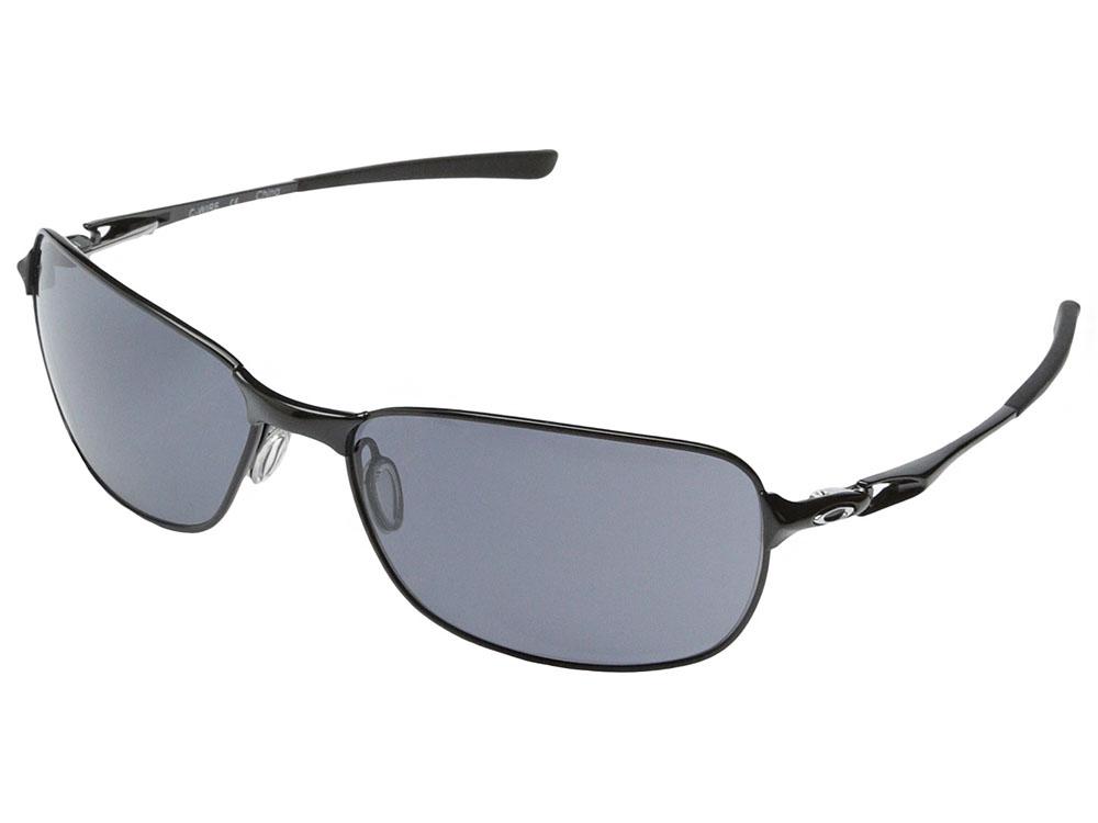 0b4627baaf Oakley C Wire Sunglasses OO4046-10 Polished Black Grey 700285751979 ...