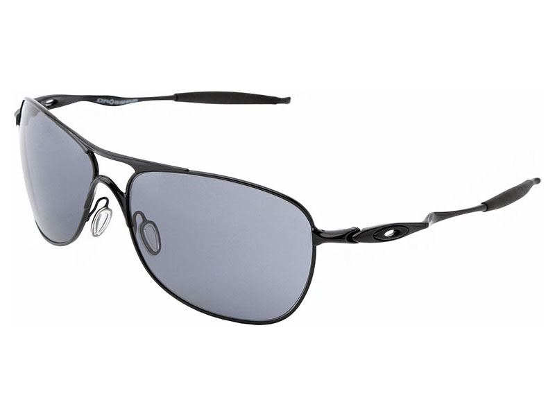 b6aa453fe65 Oakley Crosshair Sunglasses OO4060-18 Polished Black Grey ...