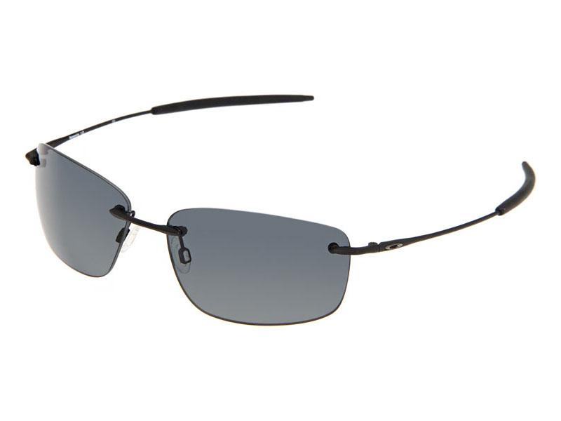 2c7b3957fd Oakley Nanowire 1.0 Polarized Sunglasses 30-755 Matte Black Grey (no ...
