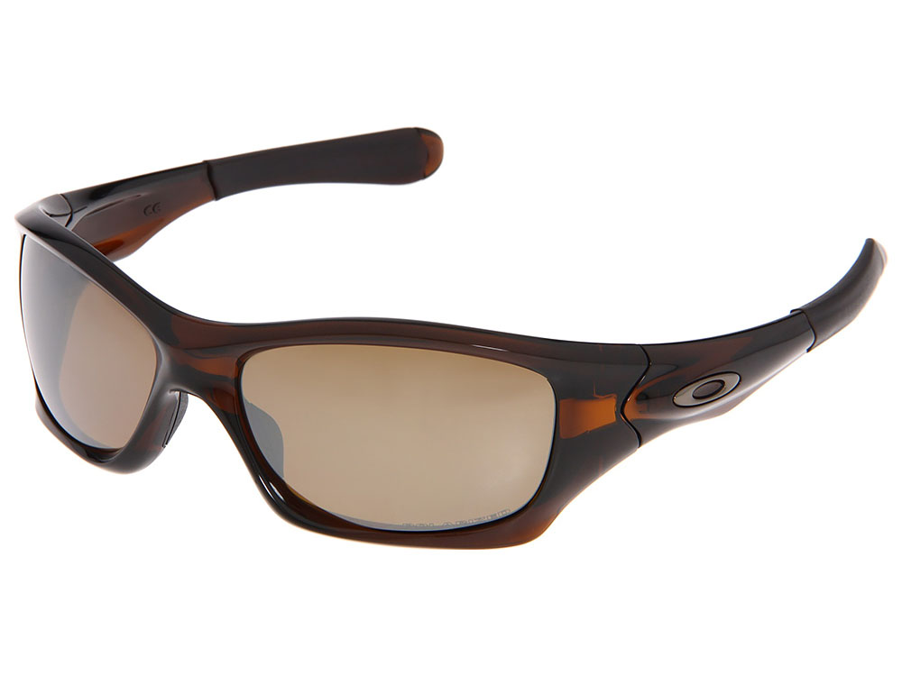 60e30689373 Oakley Pit Bull Polarized Sunglasses. Polished Rootbeer Frame   Tungsten Iridium  Polarized Lens