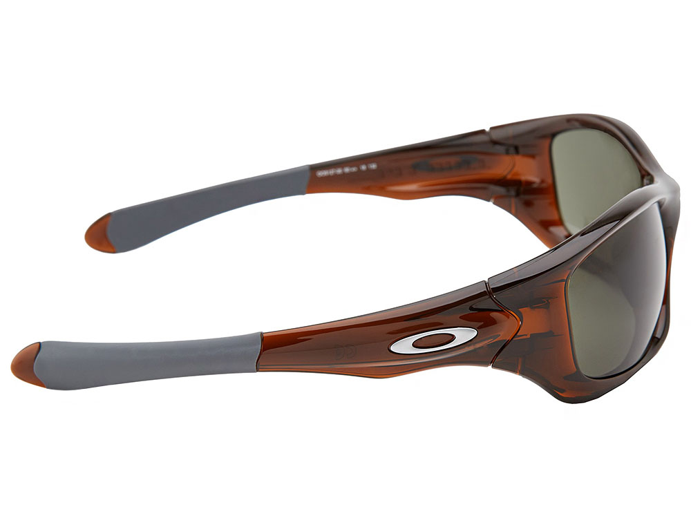ffd99ee1dc6 Oakley Pit Bull Sunglasses OO9127-20 Polished Rootbeer Dark Grey ...