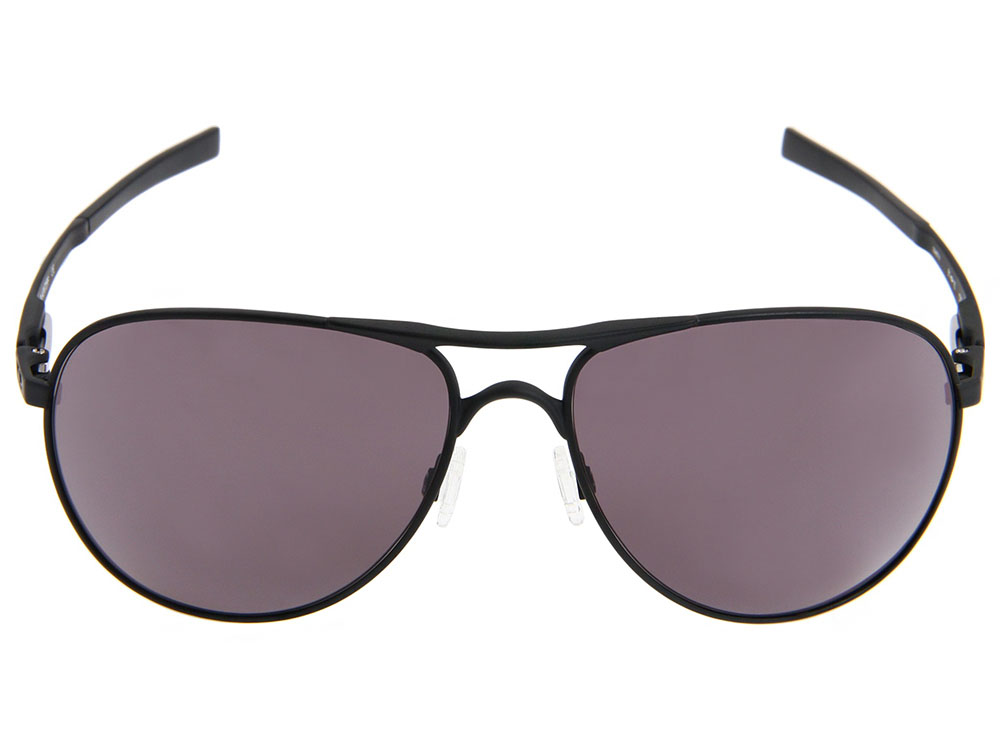 75646c12f7 Oakley Plaintiff Sunglasses. Matte Black Frame   Warm Grey Lens