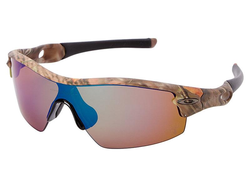 07515374db Oakley Radar Pitch King s Camo Polarized Sunglasses. Woodland Camo Frame   Shallow  Blue Iridium Polarized Lens