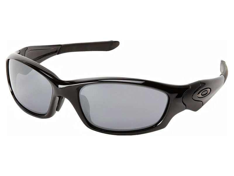 4ba798a5830 Oakley Straight Jacket Sunglasses (Asian Fit). Polished Black Frame   Black  Iridium Lens