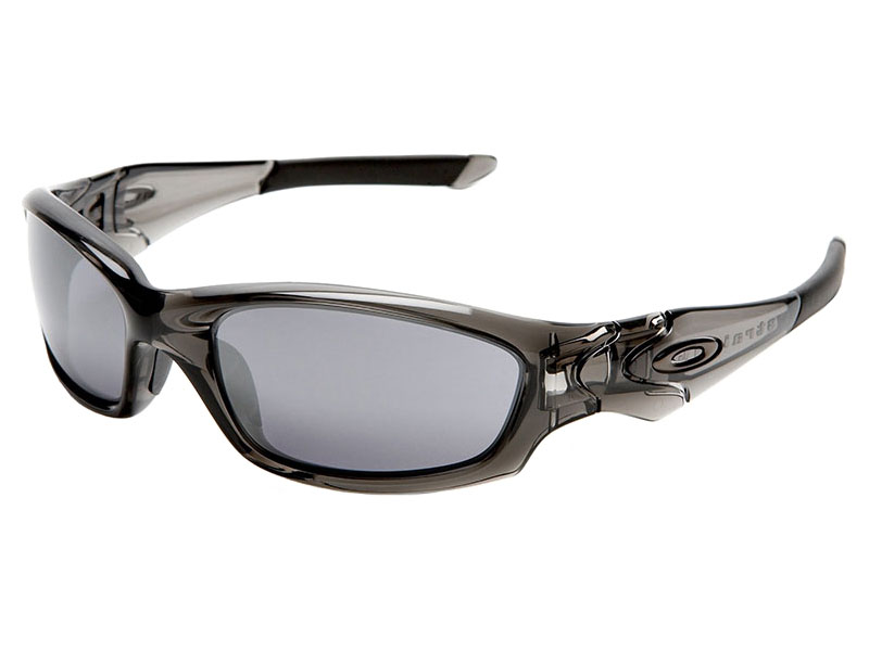 b85e0c18f33 Oakley Straight Jacket Sunglasses 04-327 Grey Smoke Black Iridium ...