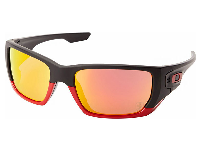 2c3cf986c0 Details about Oakley Men s Style Switch Scuderia Ferrari Sunglasses  OO9194-24 Matte Black Ruby