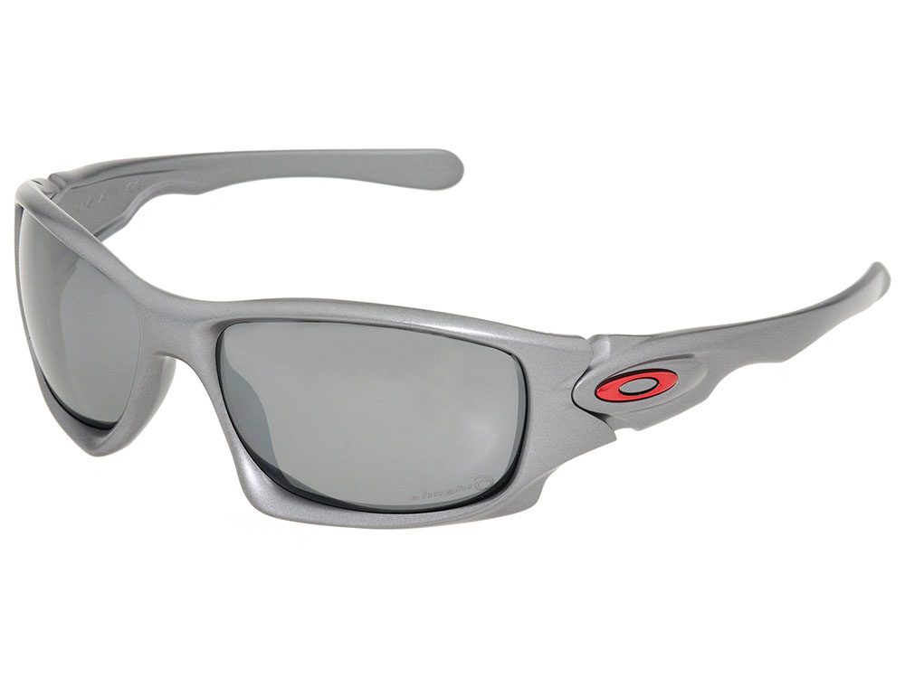 68a893e0a4 Oakley Ten Alinghi Edition Polarized Sunglasses OO9128-08 Grey Black ...