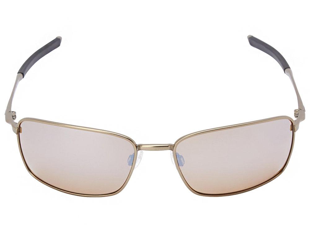 3345f94feffb Oakley Ti Square Wire Polarized Sunglasses OO6016-01 Titanium ...