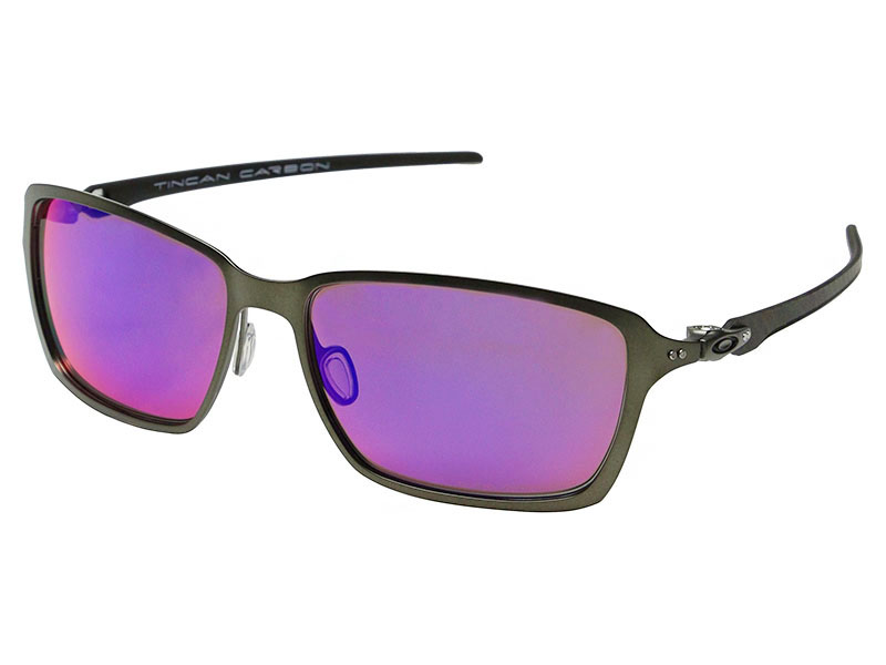f9445c4197 Details about Oakley Tincan Carbon Polarized Sunglasses OO6017-03 Carbon/OO  Red Iridium