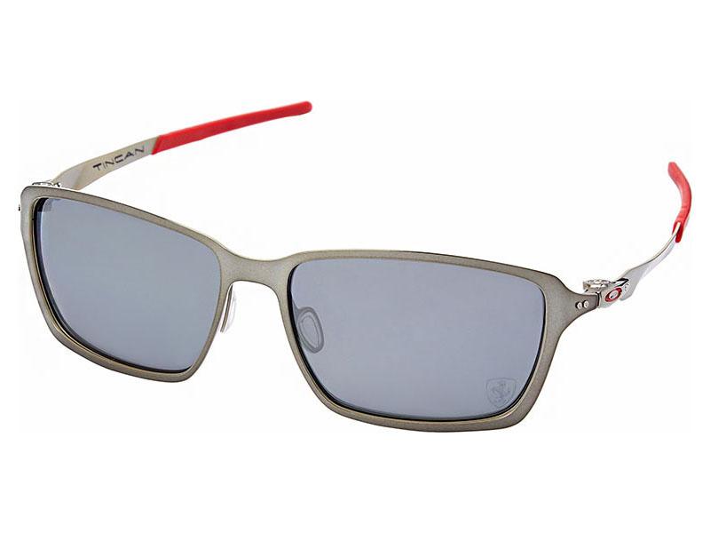 Oakley Tincan Scuderia Ferrari Polarized Sunglasses Oo4082 09 Black Chrome Black 888392004369 Ebay