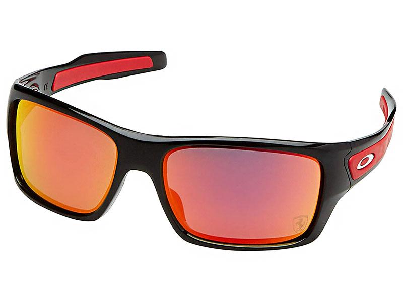 Oakley Turbine Scuderia Ferrari Sunglasses Oo9263 39 Polished Black Ruby Iridium 888392260352 Ebay