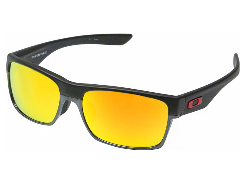 e21716acca Details about Oakley TwoFace Lin Dan Sunglasses OO9256-09 Matte Black Fire  Iridium Asian. Be the ...