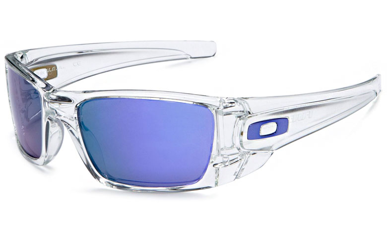 NEW Oakley Fuel Cell Sunglasses Polished Clear Violet ...
